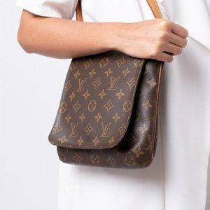 Authentic Louis Vuitton Salsa crossbody bag